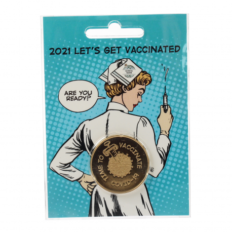 Limited Edition Blister | COVID-19 Vaccination