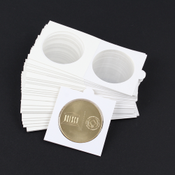 20 coin holders (Ø 38 mm coins)